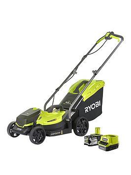 rlm18x33b40-18v-one-cordless-33cm-lawnmower-starter-kit-1-x-40ah