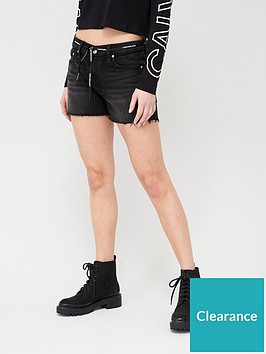 calvin-klein-jeans-mid-rise-shorts-black