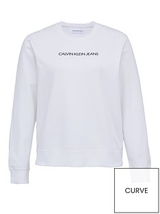 calvin-klein-jeans-plus-institutional-logo-sweat