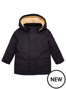 v-by-very-boys-premium-borg-lined-hooded-coat-navy
