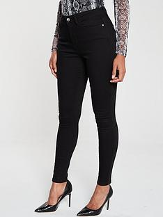 v-by-very-florence-high-rise-skinny-jean-black