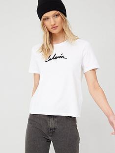 calvin-klein-jeans-calvin-mixed-media-straight-t-shirtnbsp--white