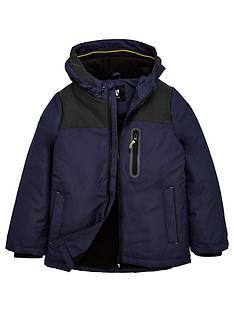 v-by-very-boys-shower-proofnbspreflective-panel-padded-fleece-lined-coat-navy