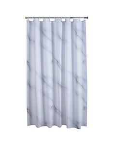 aqualona-marble-shower-curtain