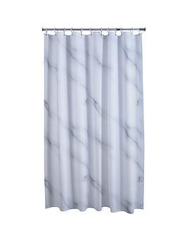 aqualona-marble-shower-curtain