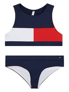 tommy-hilfiger-girls-flag-bikini-set-navy