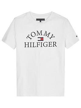 tommy-hilfiger-boys-essential-large-logo-t-shirt-white