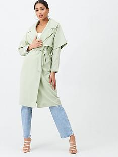 missguided-missguided-waterfall-coat-mint