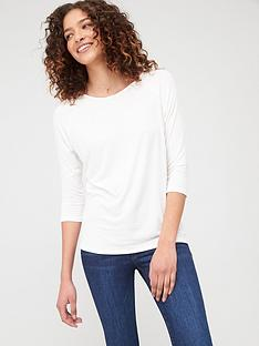 v-by-very-the-essential-three-quarter-sleeve-raglan-t-shirt-ivory