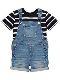 v-by-very-boys-tee-and-denim-dungaree-set-blue