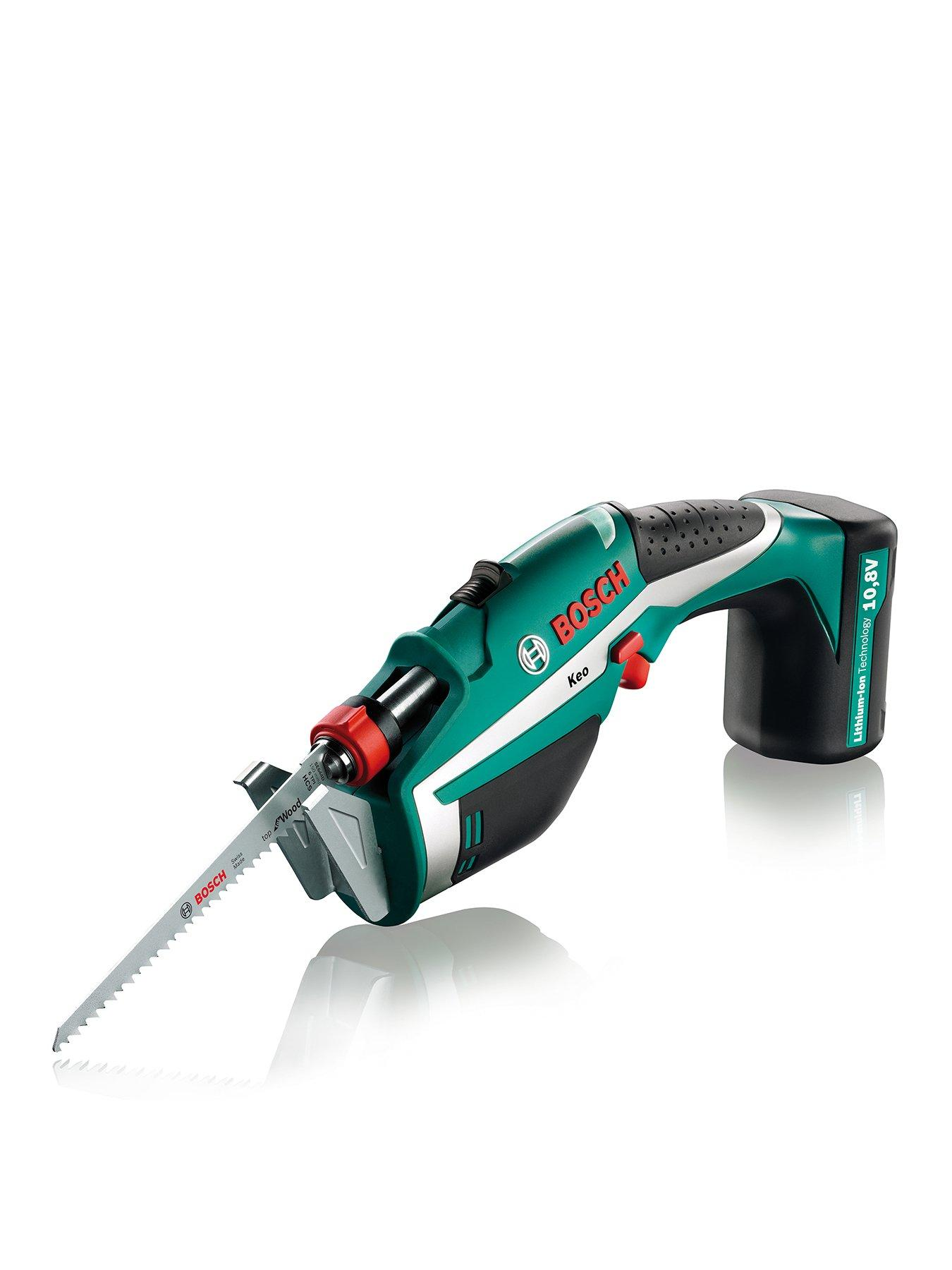 Bosch Keo Cordless Garden Saw with Hand Guard Anti Vibration System 10.8V