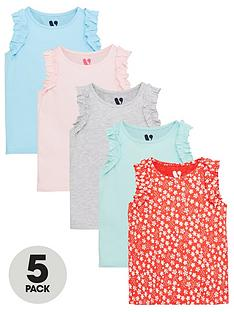 v-by-very-girls-5-pack-frill-vests-multi