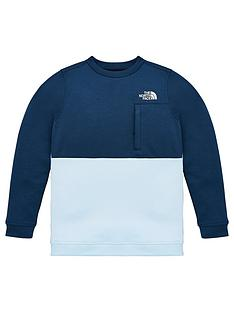 the-north-face-boys-slacker-crew-neck-sweat-blue