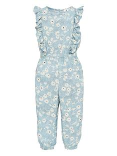 v-by-very-girls-floral-woven-jumpsuit-blue