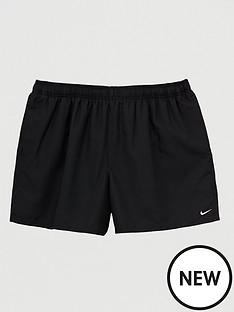 nike-plus-sizenbspswim-5-inch-solid-lap-swim-shorts-black