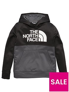 the-north-face-boys-surgent-block-overhead-hoodie-blackgrey