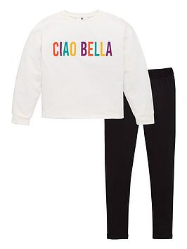 v-by-very-girls-ciao-bella-sweatshirt-and-legging-set-multi
