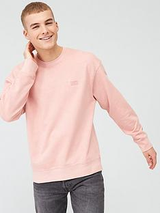 levis-authentic-logo-sweatshirt-pink