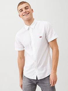levis-short-sleeve-battery-housemark-slim-shirt-white