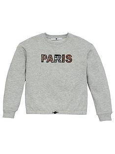 v-by-very-girls-paris-animal-print-detail-sweatshirt-grey