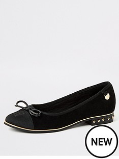 river-island-river-island-stud-heel-ballet-shoe-black