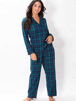 pour-moi-cosy-check-pyjama-set-multi