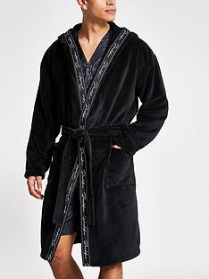 river-island-black-prolific-tape-fleece-dressing-gown