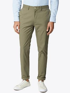 ben-sherman-signature-slim-stretch-chinos-olive