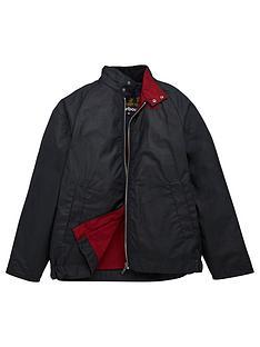 barbour-boys-ender-wax-jacket-navy