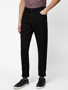 ben-sherman-straight-jeans-black