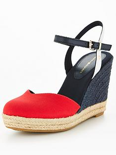 tommy-hilfiger-closed-toe-high-wedge-red