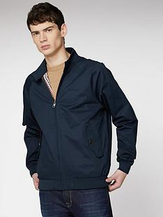 ben-sherman-signature-harrington-jacket-dark-navy