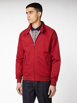 ben-sherman-signature-harrington-jacket-red