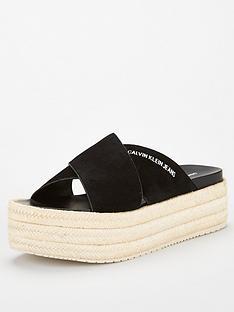 calvin-klein-jeans-crossover-espadrilles-black