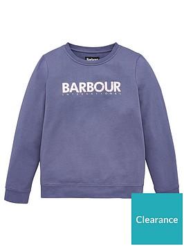 barbour-international-girls-fullcourt-crew-sweat-top