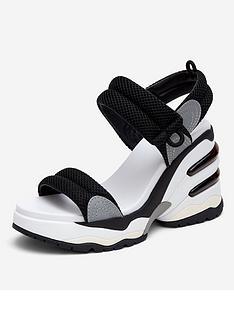 ash-cosmos-wedge-sandal-black