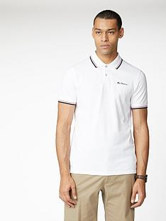 ben-sherman-signature-polo-top-white