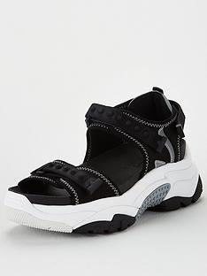 ash-adapt-wedge-sandal-blacksilver