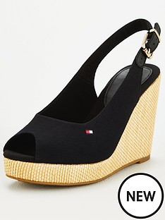 tommy-hilfiger-iconic-elana-sling-back-wedge-black