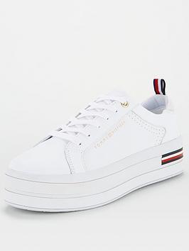 tommy-hilfiger-modern-flatform-trainer-white