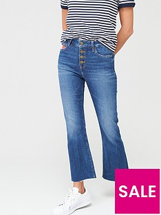 tommy-hilfiger-cool-bootcut-high-waist-rocco-flare-jeans-blue