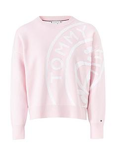 tommy-hilfiger-bobbee-stamp-logo-sweater-pink