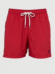 barbour-essential-logo-5-inch-short-red