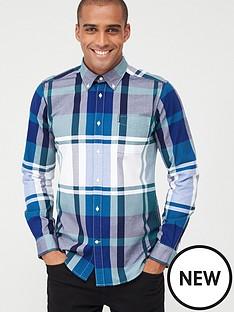 barbour-highland-23-check-shirt-green