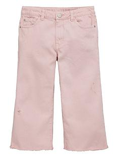 v-by-very-girls-frayed-hem-cropped-jeans-pink