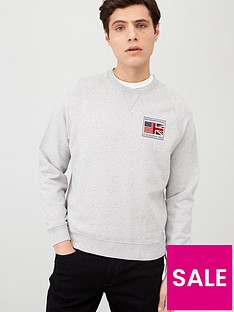 barbour-international-steve-mcqueen-team-flags-sweatshirt-with-back-print
