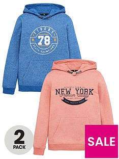 v-by-very-boys-2-pack-printed-hoodies-coralblue