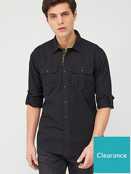 barbour-international-carving-shirt-black