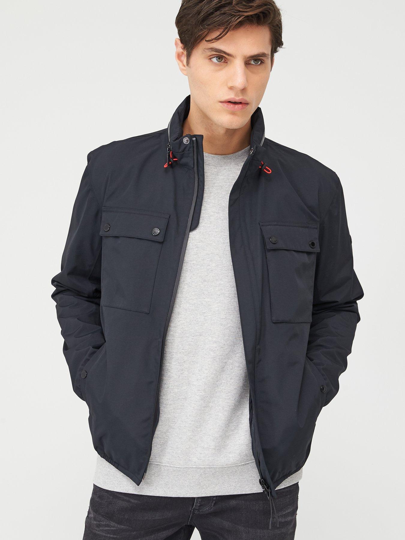 Men Leather Jacket Coat Motorcycle Biker Slim Fit Outwear Jackets LFC1133