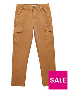 v-by-very-boys-cargo-trousers-tan